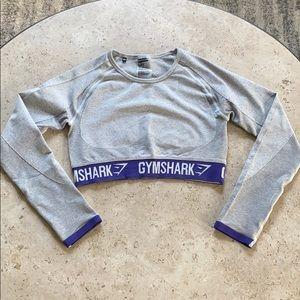 Gymshark cropped long sleeve